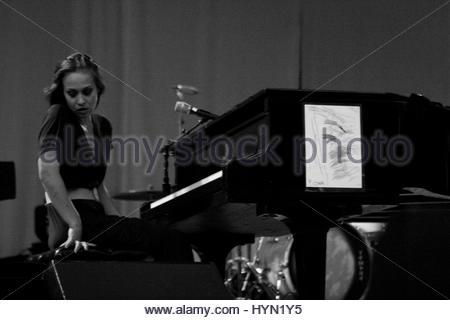 Fiona Apple plays Central Park's Summerstage July 26, 2006. New York, NY.  ©  RTMaler / MediaPunch   - - Stock Photo