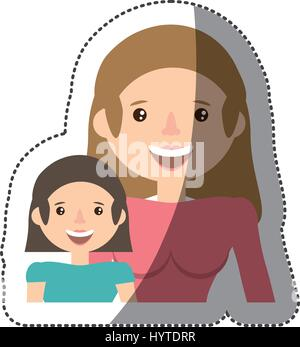 people together family image vector illustration eps 10 - Stock Photo
