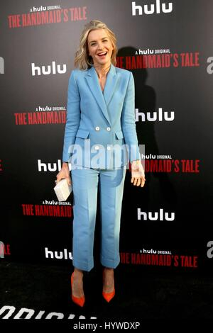 Los Angeles, CA, USA. 25th Apr, 2017. Ever Carradine at arrivals for THE HANDMAID'S TALE Screening Premiere on HULU, - Stock Photo