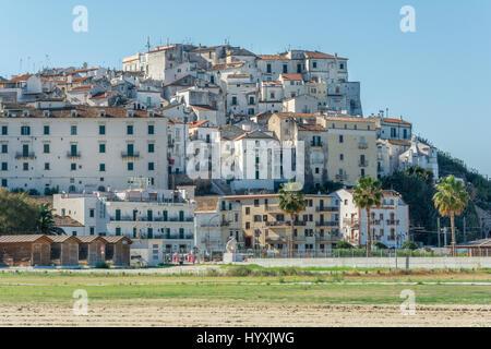 Panoramic sight in Rodi Garganico, Foggia Province, Puglia, Italy - Stock Photo