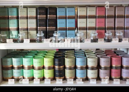 Angelina tea house and cafe, 226 Rue de Rivoli, Paris, France - Stock Photo
