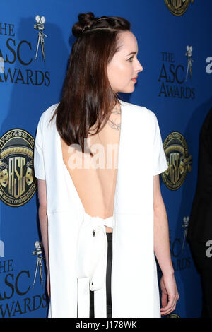 Los Angeles, CA, USA. 5th Feb, 2017. LOS ANGELES - FEB 4: Dakota Johnson at the 31st Annual American Society Of - Stock Photo