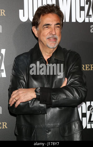Los Angeles, CA, USA. 30th Jan, 2017. LOS ANGELES - JAN 30: Joe Mantegna at the ''John Wick: Chapter 2'' Premiere - Stock Photo