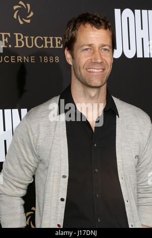 Los Angeles, CA, USA. 30th Jan, 2017. LOS ANGELES - JAN 30: Colin Ferguson at the ''John Wick: Chapter 2'' Premiere - Stock Photo