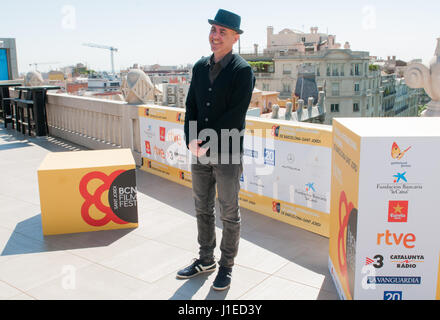 Barcelona, Spain. 21st April, 2017. The american actor Richard Gere and film director Joseph Cedar opens the first - Stock Photo