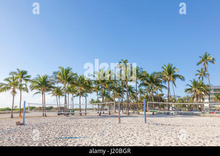 Miami Beach Volleyball Courts
