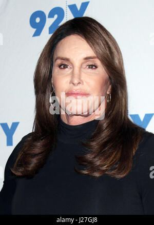 New York, NY, USA. 25th Apr, 2017. Caitiyn Jenner at 92Y in New York City on April 25, 2017. Credit: Rw/Media Punch/Alamy - Stock Photo