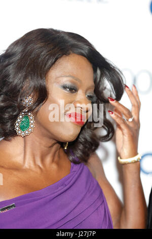 New York, USA. 25th Apr, 2017.  Viola Davis attends the 2017 Time 100 Gala at Jazz at Lincoln Center on April 25, - Stock Photo