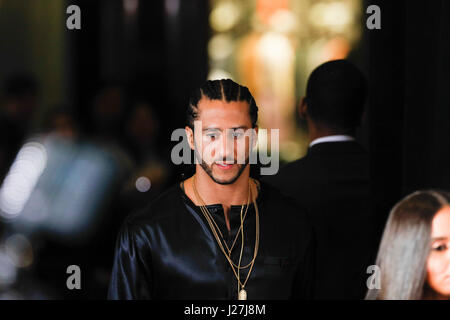 New York, USA. 25th Apr, 2017.  Colin Kaepernick attends the 2017 Time 100 Gala at Jazz at Lincoln Center on April - Stock Photo