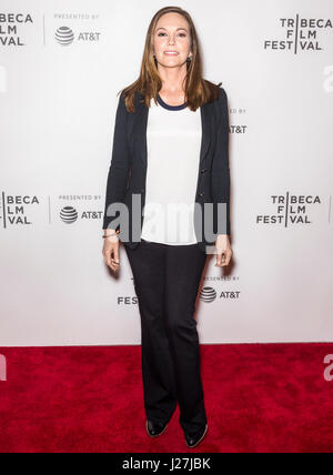 New York, USA. 25th April, 2017. Diane Lane attends 'Paris Can Wait' during the 2017 Tribeca Film Festival at BMCC - Stock Photo