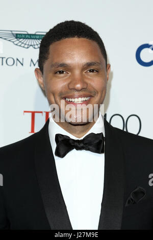 New York, USA. 25th April, 2017. Trevor Noah attends the Time 100 Gala at Frederick P. Rose Hall on April 25, 2017 - Stock Photo