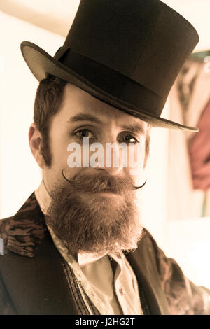 mr man with beard moustache stock photo royalty free image 2260042 alamy. Black Bedroom Furniture Sets. Home Design Ideas