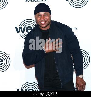New York, NY, USA. 28th Apr, 2017. LL Cool J at We Are Family Foundation 2017 Celebration Gala at Hammerstein Ballroom - Stock Photo