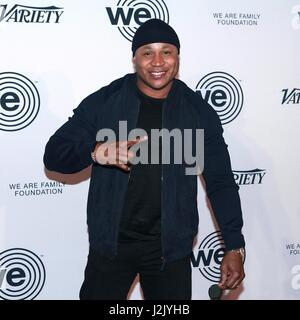 New York, NY, USA. 28th Apr, 2017. LL Cool J at We Are Family Foundation 2017 Celebration Gala at Hammerstein Ballroom - Stock Photo