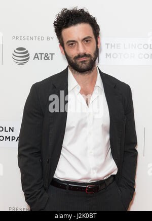New York, United States. 28th Apr, 2017. New York, NY USA - April 28, 2017: Morgan Spector attends premiere of Chuck - Stock Photo