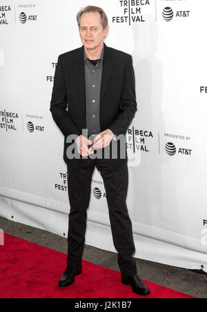 New York, USA. 28th April, 2017. Actor Steve Buscemi attends the 'Reservoir Dogs' 25th Anniversary Screening during - Stock Photo