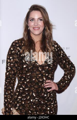 New York, NY, USA. 28th Apr, 2017. Sara Chase at the 2017 Tribeca Film Festival screening of the Netflix series - Stock Photo