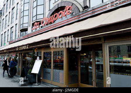 Brasserie La Coupole, Paris, France - Stock Photo
