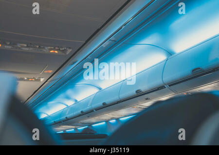 Row Of Seats On Board Airplane Stock Photo Royalty Free Image 51037151 Alamy