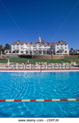 The Swimming Pool At The Stanley Hotel Estes Park Larimer County Stock Photo 140115430 Alamy