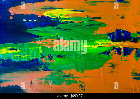 Abstract painting background - Stock Photo