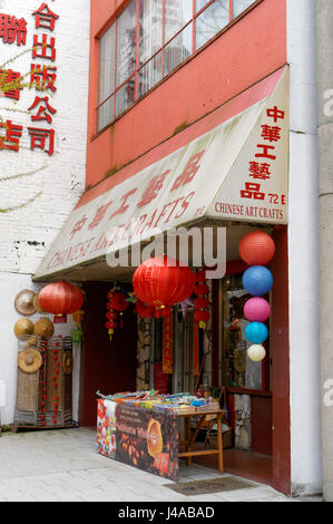Colourful chinese handicrafts in a store in chinatown for Craft stores in canada