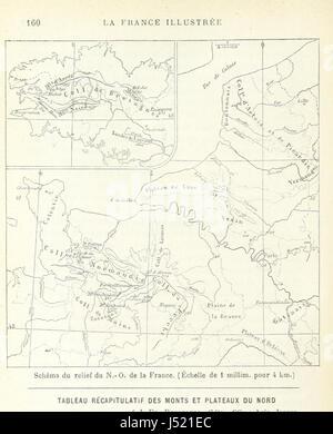 Image taken from page 172 of 'La France Illustrée: géographie générale ... Par F. J' - Stock Photo