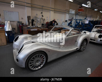 Hand made cars at morgan cars in malvern uk stock photo for How much are car motors