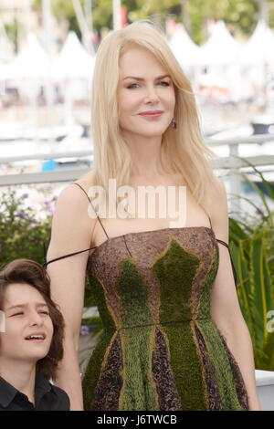 Cannes, France. 22nd May, 2017. Actress Nicole Kidman attends the 'The Killing Of A Sacred Deer' photocall during - Stock Photo