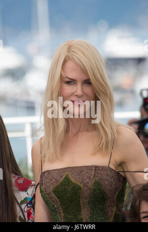Cannes, France. 22nd May, 2017. Nicole Kidman at the photocall for 'The Killing of a Sacred Deer' at the 70th Festival - Stock Photo