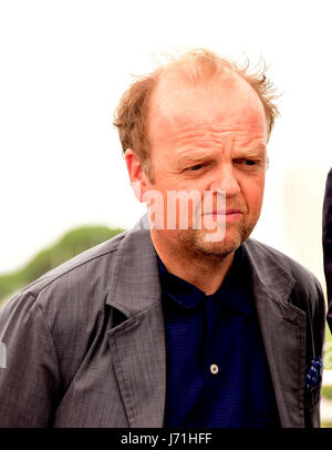 Cannes, France. 22nd May, 2017. Toby Jones attending a Photocall for HAPPY END at Cannes film Festival 22th May - Stock Photo