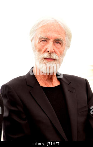 Cannes, France. 22nd May, 2017. Michael Haneke attending a Photocall for HAPPY END at Cannes film Festival 22th - Stock Photo