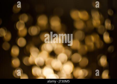 Full Frame Of Defocused Illuminated Lights - Stock Photo