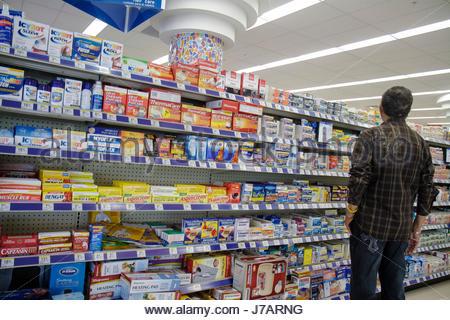 Miami Beach Florida Walgreens Shopping Retail Display