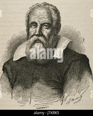 Biography of galileo galilei the italian philosopher physicist astronomer engineer and mathematician