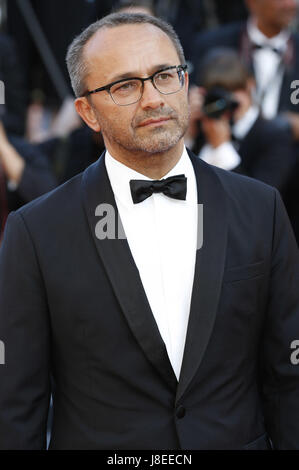 Cannes, Frankreich. 28th May, 2017. Andrey Zvyagintsev/Andrei Swjaginzew attending the closing-night of the 70th - Stock Photo