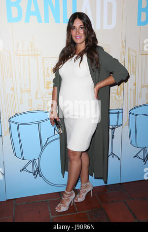 Los Angeles, Ca, USA. 30th May, 2017. Angelique Cabral at the Los Angeles Premiere of BAND AID at The Theatre at - Stock Photo