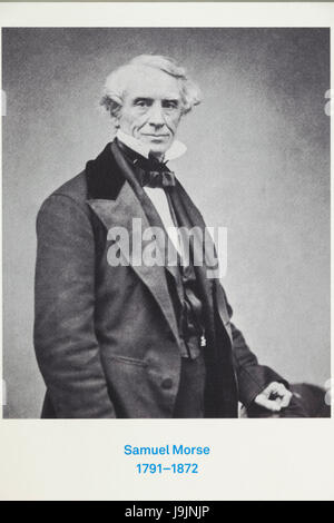 Portrait of Samuel Morse 1791-1872 - Stock Photo