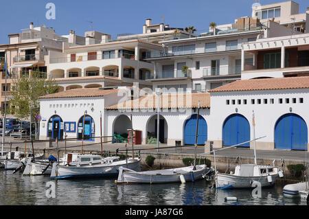 harbour cala ratjada - Stock Photo