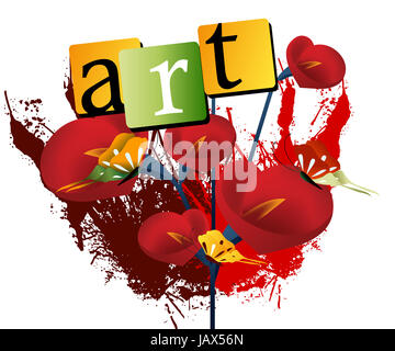 Urban Art Illustration, Vector file easy to edit or change color. - Stock Photo