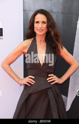 Hollywood, Ca., USA. 8th June, 2017. Andie MacDowell at the American Film Institute Gala honoring Diane Keaton with - Stock Photo