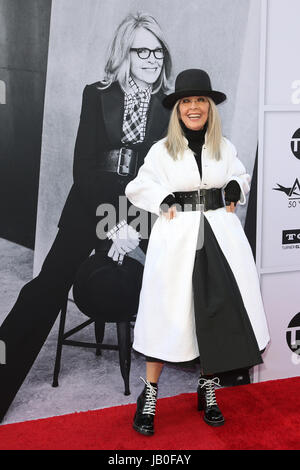 Hollywood, Ca., USA. 8th June, 2017. Diane Keaton at the American Film Institute Gala honoring Diane Keaton with - Stock Photo