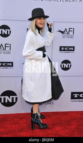 Los Angeles, CA, USA. 8th June, 2017. Diane Keaton at arrivals for 2017 AFI Life Achievement Award Gala Honoring - Stock Photo