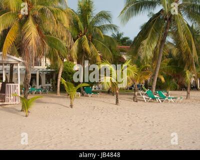 Beach in Jamaica - Stock Photo