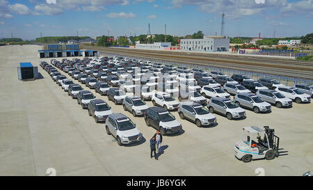 Changchun china 39 s jilin province 9th july 2014 workers for Great wall motors stock
