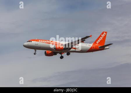 EasyJet Airbus A320-214 - Stock Photo