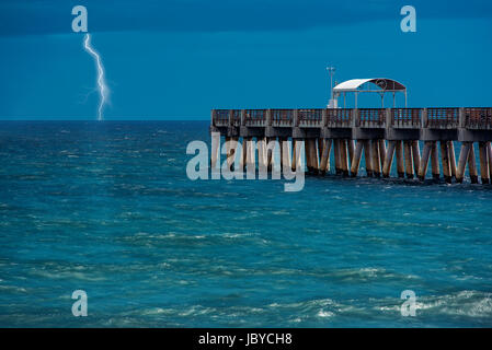 Delray Beach Florida After The Storm