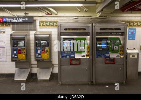 metrocard vending machine locations