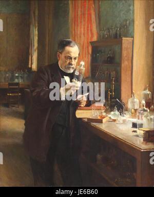 Albert Edelfelt - Louis Pasteur - 1885 - Stock Photo