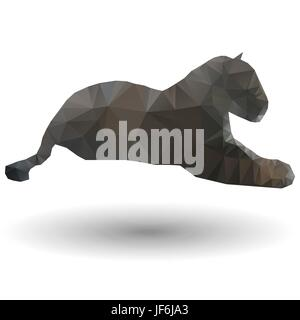 motion, postponement, moving, movement, danger, art, animal, mammal, brown, - Stock Photo